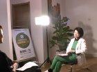 本中心性健康管理師-童嵩珍接受廣東電視台採訪